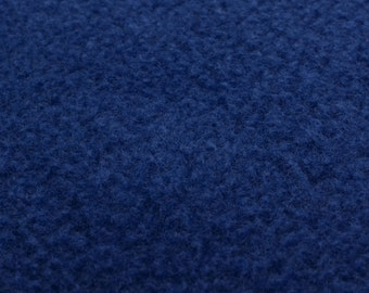 Polar Fleece (Royal Blue) micro fleece fabric - 0, 5 m
