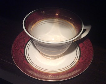 Vintage Teacup - Her Majesty Deluxe Imperial Ware