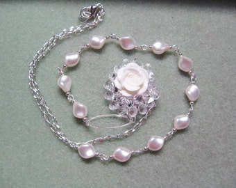 Swarovski Crystal Rose Set