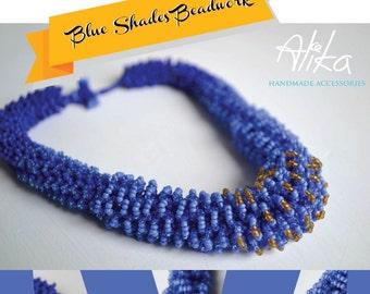 "Tutorial ""Blue Shades Beadwork"""