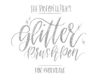 Glitter Brush Pen for ProCreate | iPad Pro