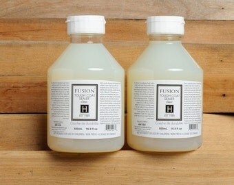 Tough Coat  for Fusion Mineral Paint - No VOC Eco Friendly -  500 mL - Clear or Antiquing