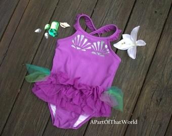 Toddler Mermaid Bathing Suit