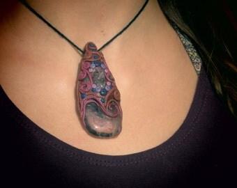 Atlantis necklace - Amethyst