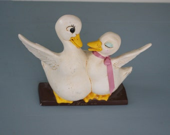 Vintage Love Doves Figurine