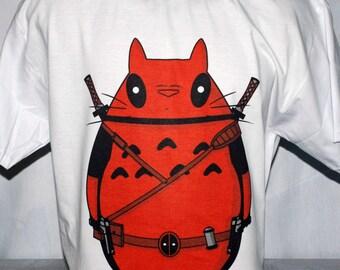 Deadpool Totoro Tshirt Wade Winston Wilson