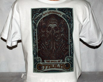 Call Of Cthulhu Tshirt H P Lovecraft