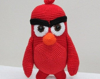 Amigurumi inspired by Red Angry Birds - US/NL crochet pattern