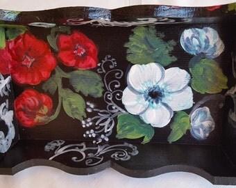 Floral in black