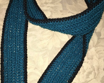 Womens crocheted scarf