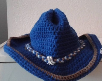 Infant Blue Cowboy Hat