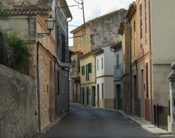 Spanish Village Street, Mallorca, Fine Art Photography Print