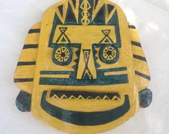 Handmade ceramic wall plaque