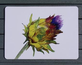 Thistle Placemat - Scottish - Floral