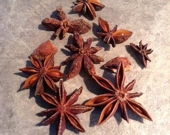 Star Anise - 1 Pound. Great For Crafts, potpourri and Home Deorating