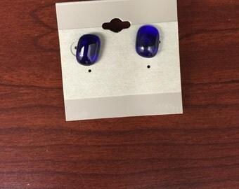 Glass Handmade Stud Earrings