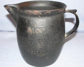 Vintage Small Metal Creamer Pitcher - SKU 1457