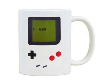 Personalised Gameboy Mug