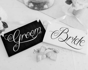 Bride & Groom Chair Hangers