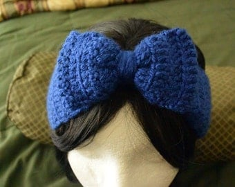 Blue Earwarmer/headband
