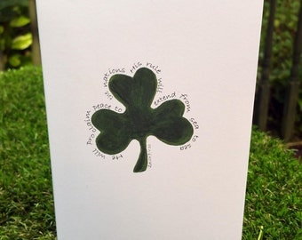 Shamrock Card Series - Solid Shamrock