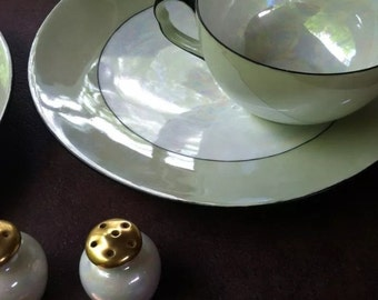 Handmade Lusterware Tea Set