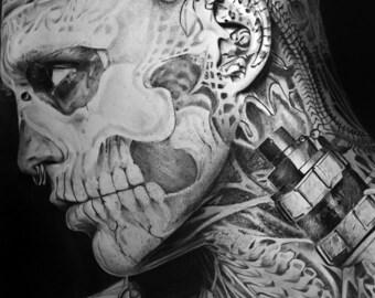 Rick Genest said Zombie Boy
