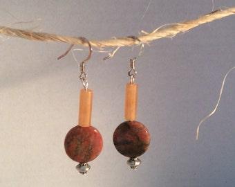 Fall colors earrings