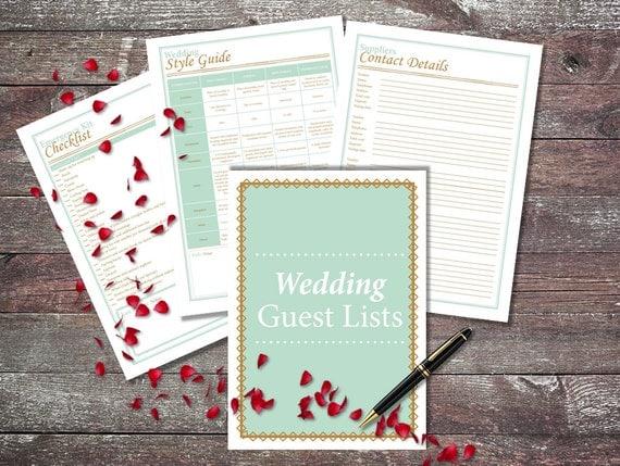Printable Wedding Planner DIY Wedding By UltimatePlanners On Etsy