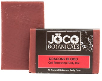 Dragons Blood Soap - All Natural, Cell Renewing, Handmade Soap, Cold Process Soap, Vegan Soap