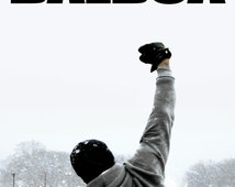 Rocky Balboa Motivation Silverster Stallone poster wall room decoration highest quality poster creative gift for boys or girls