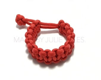 Mad Max Paracord Bracelet (Red)