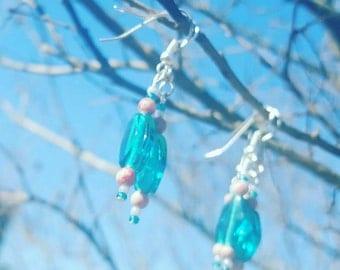 Light Blue Earings