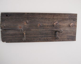 Rustic Barn Wood Coat Rack