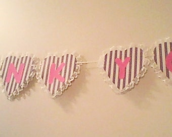 Thank you Heart Lace Banner, Thank you for gifts, After Wedding, Photo Prop after Wedding, Bride and Groom, Photo Prop