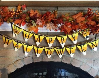 Halloween Candy Corn Banner
