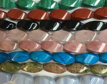20x10 twist beads in many colors