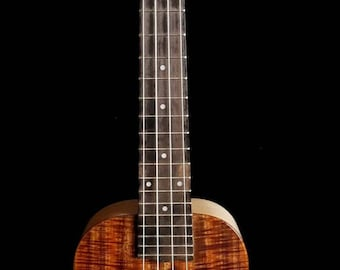 Solid Koa &  Maple Concert Ukulele - Ready to Ship