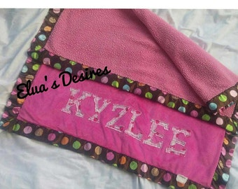 Customized Name Blankets