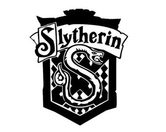 Slytherin House Crest decal