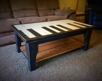 Piano/Keyboard Coffee Table