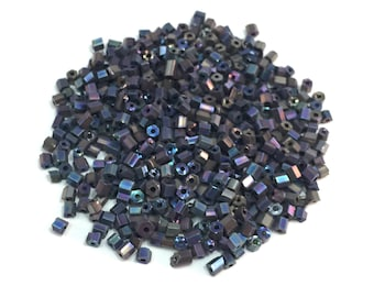 Hexagonal Metallic Beads