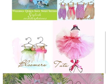 Custom Made Baby Bloomers Sachets