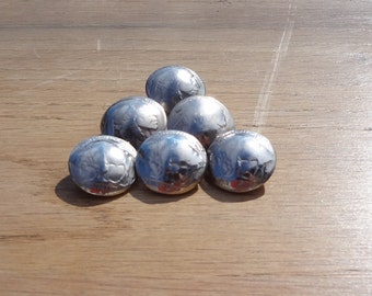 Buffalo Nickle Buttons set of 6