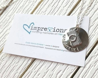 Photographer Necklace -Camera Lover -Photography
