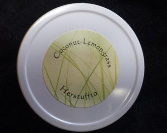 Coconut-Lemongrass Lotion Bar