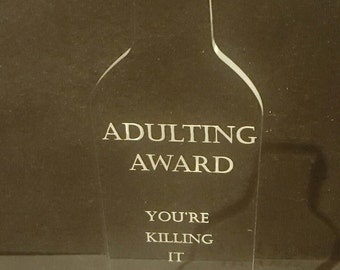 Adulting Award - Bottle/Coffee Mug