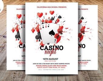 casino einladung vorlage