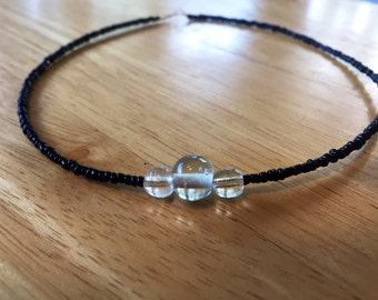 Black wire choker