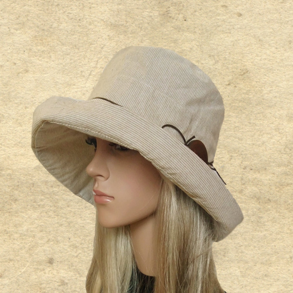 suns hats cotton summer womens hats hats large brim beige